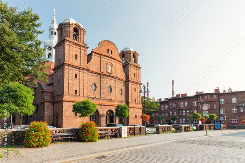 Katowice, Nikiszowiec, Traditional, old buildings of the mining district of Silesia