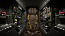 Science Fiction Pilot's Seat I...