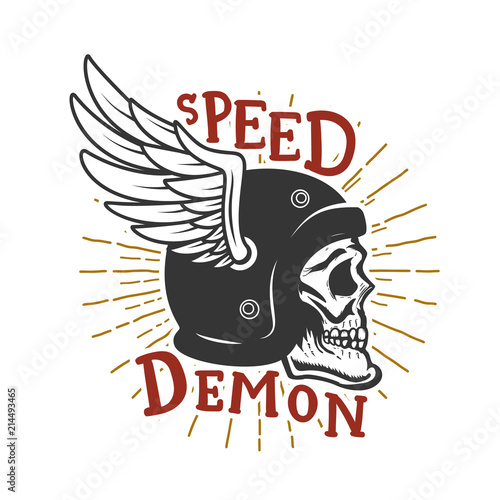 Canvas Print Speed demon