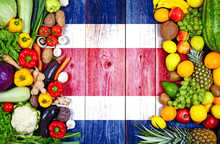 Fresh Fruits And Vegetables From Costa Rica
