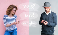 Online Communication Between Friends