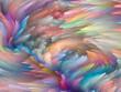 canvas print picture - Color Motion