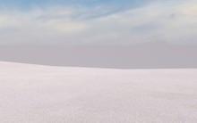 Evening Sky Over Badlands - CG...