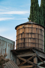 Wooden Water Tank