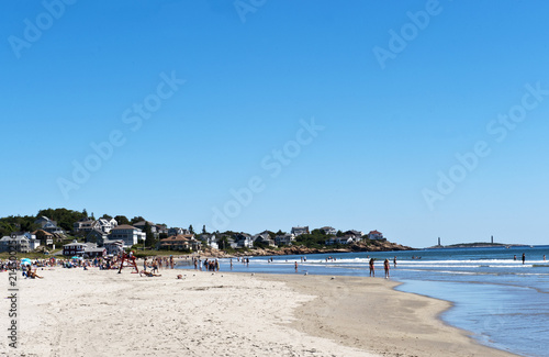 Obraz na plátne Strand Good Harbor Beach, Gloucester, Cape Ann, Bundesstaat Massachusetts, Neuen