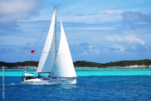 Sailing regatte, Bahamas Wallpaper Mural