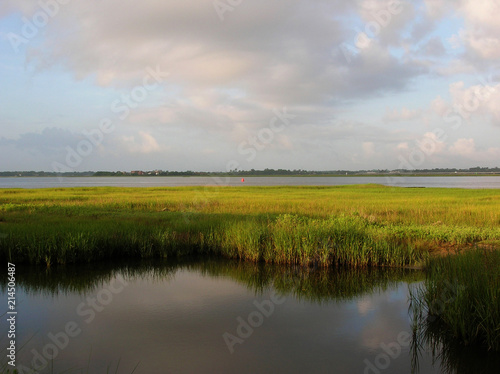 Fotografie, Obraz Intercoastal waterway, Charleston, SC