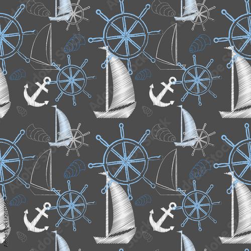 wektor-bezszwowe-morze-wzor-ze-statkow-kolo-statku-kotwica-druk-kreskowki-ilustracji-wektorowych-papier-do-notatnikow-papier-do-pakowania