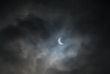 Partial Solar Eclipse Of August 21, 2017, From Quebec, Canada.