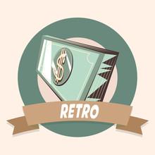 Bank Banknote Money Retro Shop...