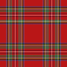 Tartan Pattern. Scottish Cage ...