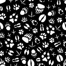 Vector Seamless Pattern Animal...