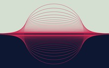 Abstract Illustration With Hor...