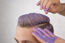 Barber's Hand Toning Young Cli...