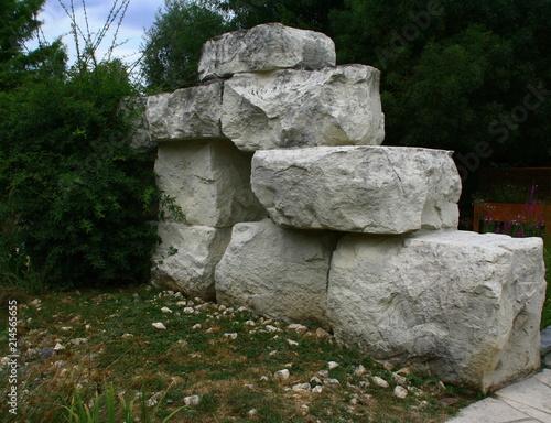 Fotografia, Obraz  empilement de rochers,pierres naturelles