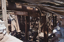 Looking Into The Old And Broken Down Dugout For The Old Butch Cassidy And The Wild Bunch,