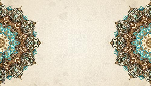 Valokuva Exquisite arabesque background