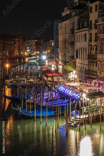 Obraz na dibondzie (fotoboard) Wenecja nocą