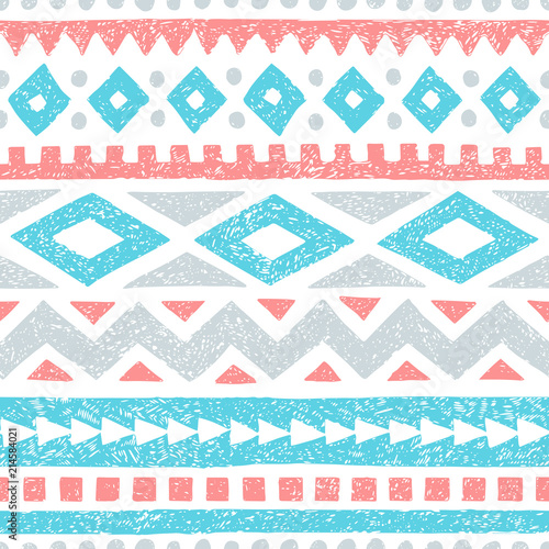 vintage-striped-pattern-geometric-seamless-print-vintage-background-handmade-white-gray-blue-and-pink-colors