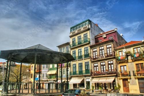 Old street in Oporto, Portugal