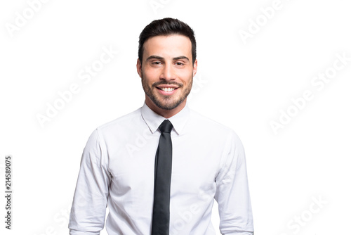 Fototapety, obrazy: Smiling businessman portrait