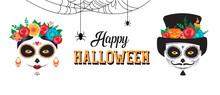 Happy Halloween Poster, Banner...