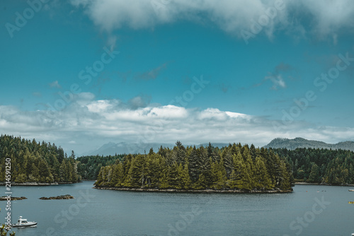 Photo  West coast Vancouver Island near Ucluelet British Columbia Canada on the Wild Pa