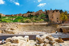 The Fortress Alcazaba Withe Ru...