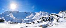 Cerler Sky Area In Pyrenees Of...
