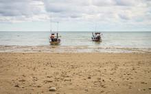 Two Traditional Thai Fishing B...