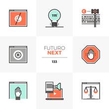 Trade Mark Futuro Next Icons