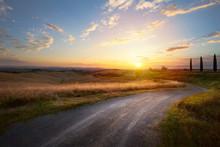 Beautiful Winding Country Road...