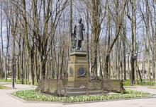 Monument To The Great Russian Composer M.I. Glinka. Smolensk, Russia.