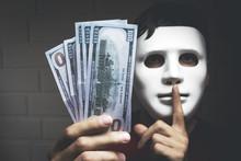 Bribery People With Dollar Bil...