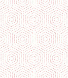 Geometric abstract hexagonal background. Geometric modern pink ornament. Seamless modern pattern - 214638431