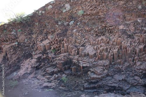Tuinposter Vulkaan Namibie