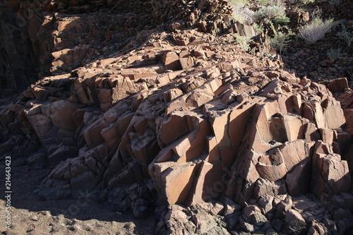 Staande foto Vulkaan Namibie