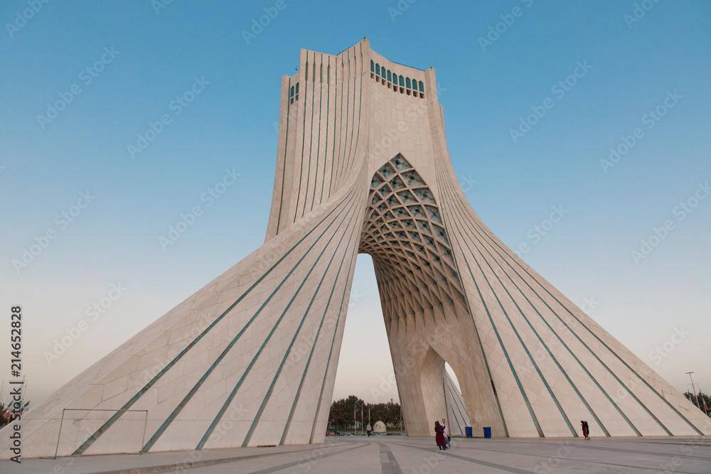 Fototapety, obrazy: Azadi Tower in Tehran Iran