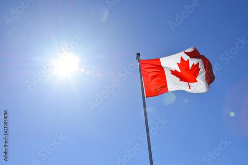 Foto op Plexiglas Canada Flagge von Kanada