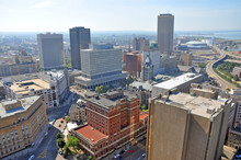 Buffalo City Aerial View From ...