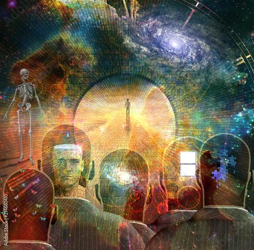 Obraz na plátně  Thoughts of Universe