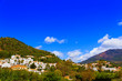 canvas print picture - Modern residential buildings in southern Spain. Costa del sol. Andalusiya.