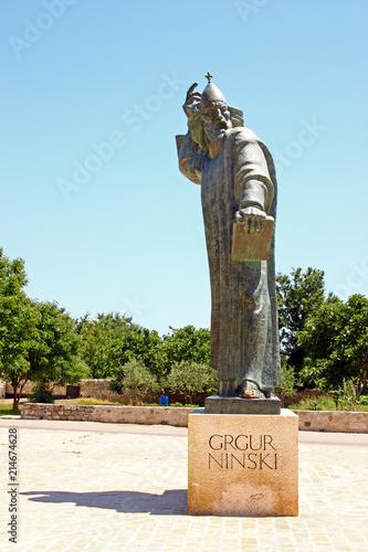 In de dag Historisch mon. Gregory of Nin