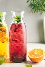 Berry Sangria With Wine, Iced ...