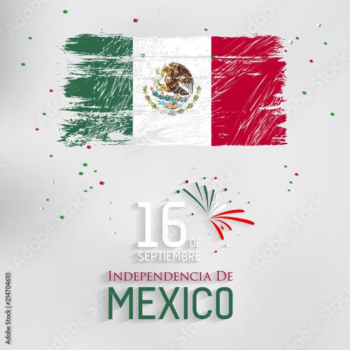 Fotomural Mexico Independence Day (Día de la Independencia).
