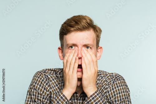 Fotografie, Obraz  omg unbelievable shock amazement