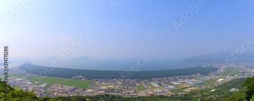 虹の松原の風景