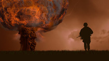 Nuclear Explosion Of A Bomb An...