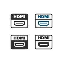 HDMI Port Icons