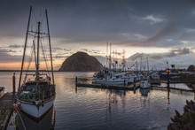 Evening, Morro Bay,California